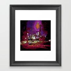 Brisbane CBD Framed Art Print