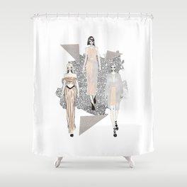 Fashionary 9 Shower Curtain