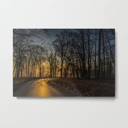Sunrise at Valley Forge. Metal Print