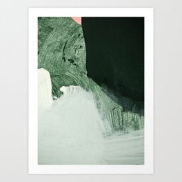 minimalist painting 05 Art Print