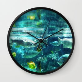 Up Close & Personal With Fish Wall Clock