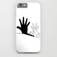 Rabbit Hand Shadow iPhone 6 Slim Case