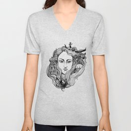 Venice on my mind Unisex V-Neck