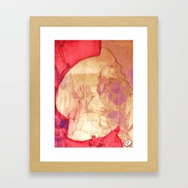 JIZIZCAT Framed Art Print