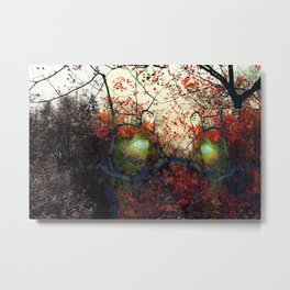The two speak Metal Print