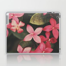 Magenta Flowers Laptop & iPad Skin