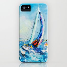 Regatta iPhone Case