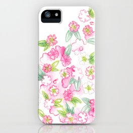 Martha's Flowers iPhone Case