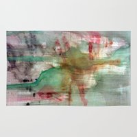 splatter Area & Throw Rugs featuring Splatter  by Lizzshop