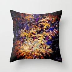 Wild Burst Throw Pillow