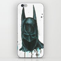 bat man iPhone & iPod Skins featuring Bat man by McCoy