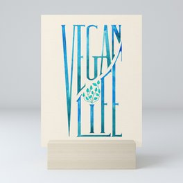 Vegan Life Mini Art Print