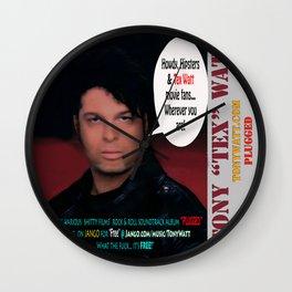 "The Tony 'Tex' Watt Jango Radio ""Plugged"" Album Poster Wall Clock"