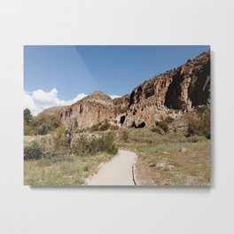 Bandelier National Monument New Mexico Metal Print