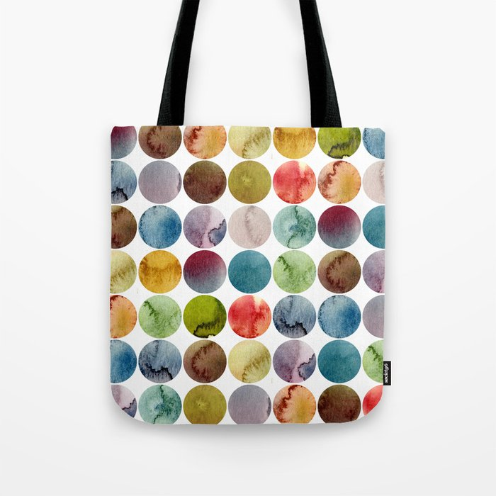 Paint pattern Tote Bag