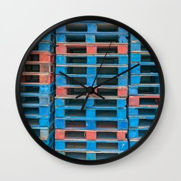 Skid Row Wall Clock