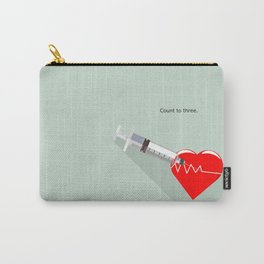 Shot to the heart - Pulp fiction Overdose Needle Scene needle for injection  Carry-All Pouch