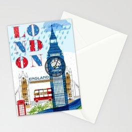 London Travel Stationery Cards