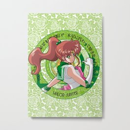 Sailor Jupiter - Crystal Intro Metal Print