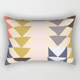 Flying Geese Rectangular Pillow