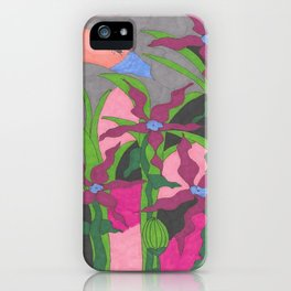 The Garden at Twilight iPhone Case