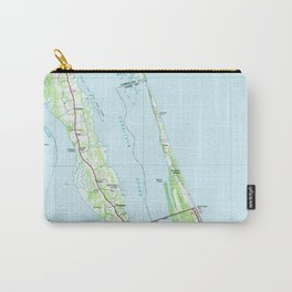 Northern Outer Banks North Carolina Map (1985) Carry-All Pouch