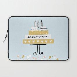 Happy birthday cake Laptop Sleeve