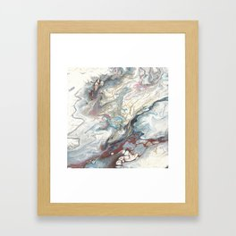 Kintsugi, a reworking of 33 Framed Art Print