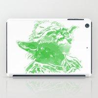 yoda iPad Cases featuring Yoda by DanielBergerDesign