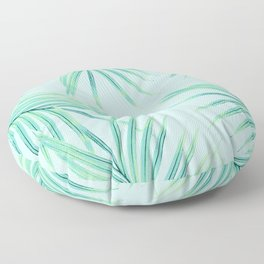 Summer Palm Leaves Dream #1 #tropical #decor #art #society6 Floor Pillow