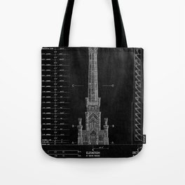 Chicago Water Tower 2 Tote Bag