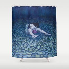 RiverDive Shower Curtain