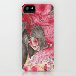 Samurai Nightmares iPhone Case