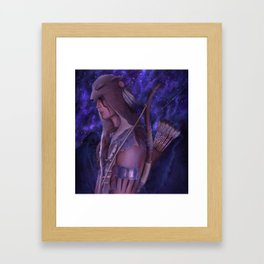 Ratonhnhnhaké:ton Framed Art Print