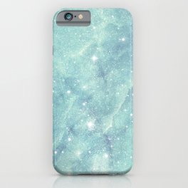 Shining starry marble iPhone Case