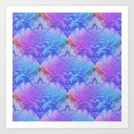 Damask Tapestry Pattern III Art Print