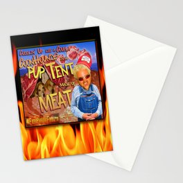 Guy Fieri and a Couple Coonhounds Stationery Cards
