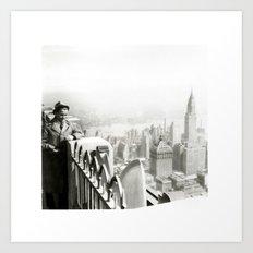 Ben on RCA Art Print