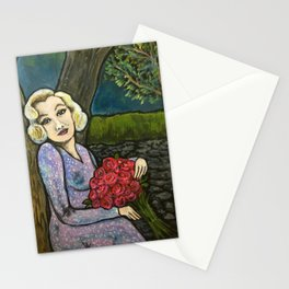 Marilyn in Love Stationery Cards