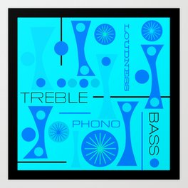 TREBLE BASS 3 Art Print