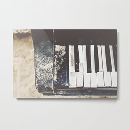 east river piano Metal Print