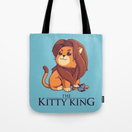 The Kitty King - Light Ver Tote Bag