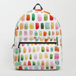 Watercolor brushstrokes Backpack