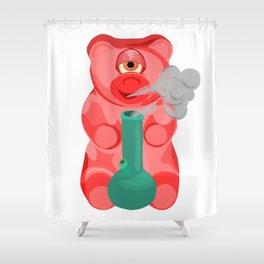 Weed Gummy Bear - Sugar High Shower Curtain