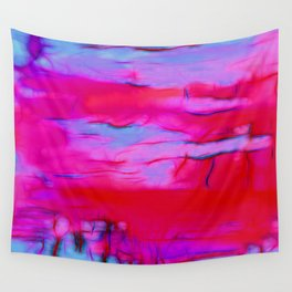 Pink Storm Wall Tapestry