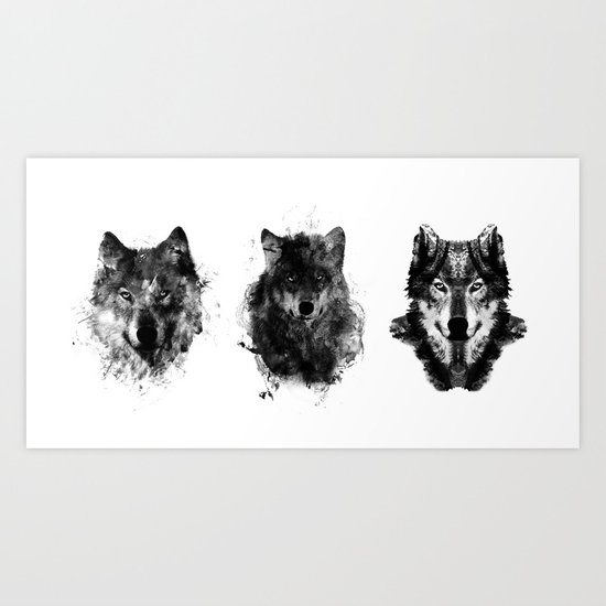 The Wolfpack Art Print