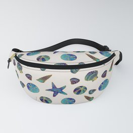 Beach Treasures - Aqua Fanny Pack