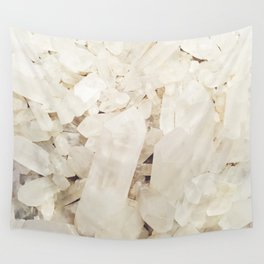 Quartz Crystals Wall Tapestry