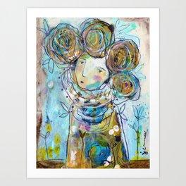 Tell Me Your Dreams Art Print