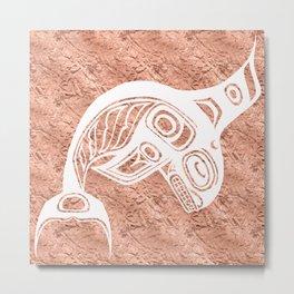 Spirit Keét Copper Metal Print